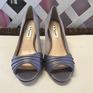 Nina Grey Heels